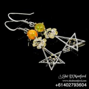 Pentagram Earings2