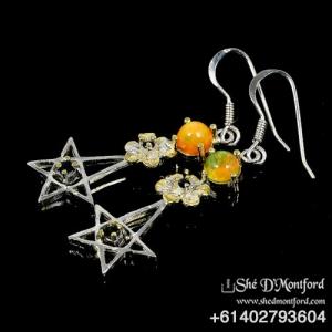 Pentagram Earings3